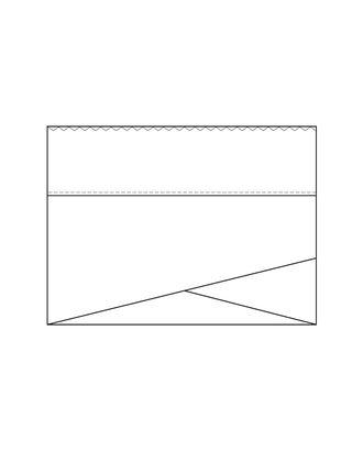 Выкройка: чалмушка (универсальный размер) арт. ВКК-2226-1-ВП0081
