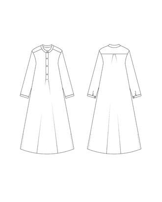 Выкройка: блузка свободного силуэта арт. ВКК-2200-1-ВП0074