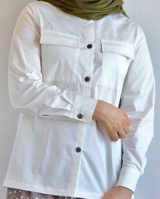 Выкройка: женская рубашка арт. ВКК-2194-1-ВП0067