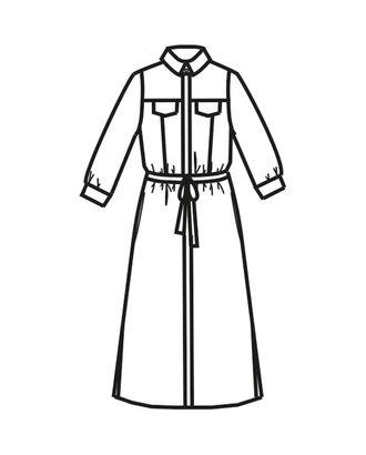 Выкройка: платье Ж-1907 арт. ВКК-2319-1-ВП0108