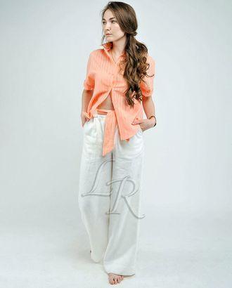 Выкройка: брюки прямого силуэта арт. ВКК-2372-1-ВП0147
