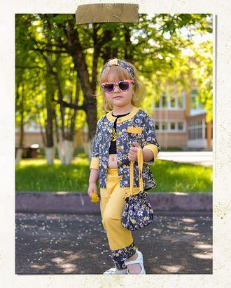 Выкройка: Костюм детский 0709 арт. ВКК-2485-1-ВП0266