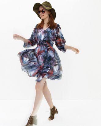 Выкройка: платье №507 арт. ВКК-2396-1-ВП0130