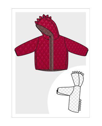 Выкройка: куртка детская утеплённая Ма-02-1001 арт. ВКК-2522-1-ВП0291