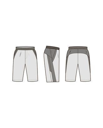 """Выкройка: шорты """"Джон"""" арт. ВКК-2550-159-ВП0341"""