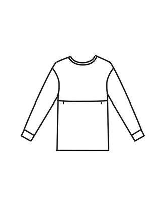 Выкройка: блуза Т-1941 арт. ВКК-2318-12-ВП0107