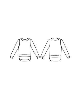 Выкройка: блуза Т-1908 арт. ВКК-2310-30-ВП0102