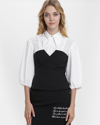 Выкройка блузки–корсета № 280 арт. ВКК-2143-1-В00158