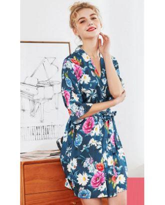 Выкройка: халат-кимоно с поясом арт. ВКК-2398-1-ВП0165