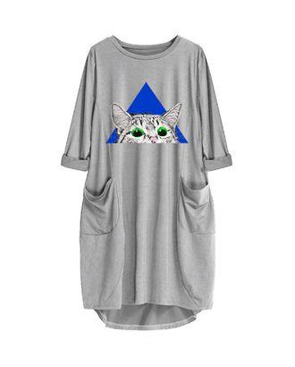 Выкройка: платье трикотажное арт. ВКК-2381-1-ВП0156