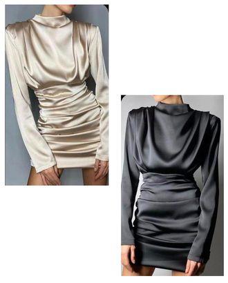 Выкройка: платье с драпировкой арт. ВКК-2546-1-ВП0337