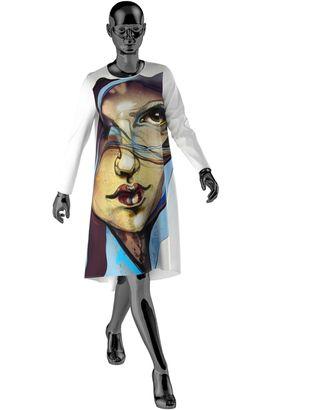 Выкройка: платье W_010 арт. ВКК-2404-1-ВП0170