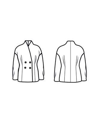 Выкройка: пальто № 273 арт. ВКК-2260-1-В00210