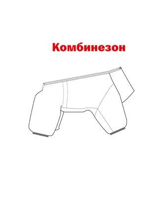 Выкройка: комбинезон Р-02-1001 арт. ВКК-2497-1-ВП0275