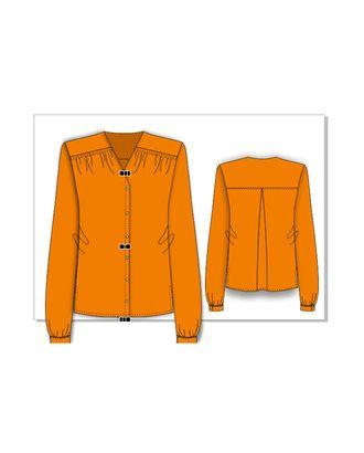 Выкройка: рубашка-туника арт. ВКК-2360-1-ВП0144