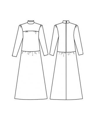 Выкройка: платье Ж-2036 арт. ВКК-2355-1-ВП0140