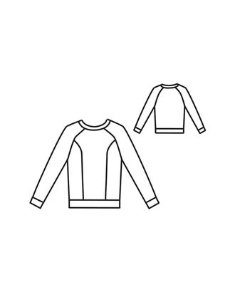 Выкройка: блуза Т-1913 арт. ВКК-2311-9-ВП0101