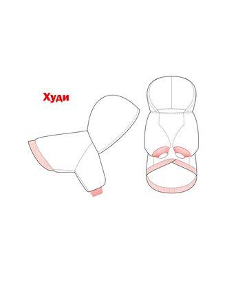 Выкройка: худи Р-02-1002 арт. ВКК-2498-1-ВП0276