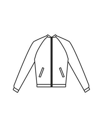 Выкройка: куртка Т-1901 арт. ВКК-2313-9-ВП0103