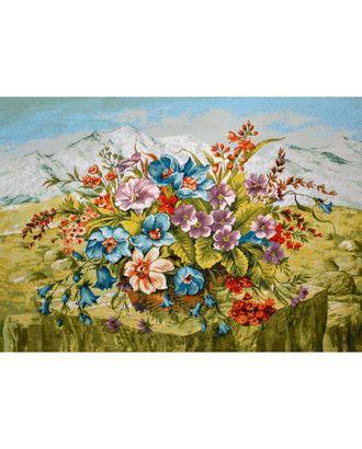 Букет Горный (купон гобеленовый) арт. КГ-26-1-1614.018