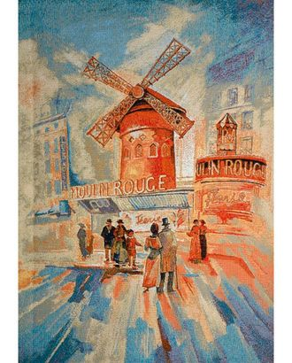 Бульвар Мулен Руж (купон гобеленовый) арт. КГ-27-1-1614.019