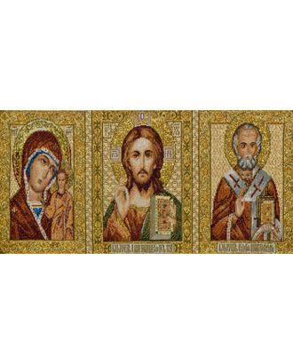 Икона Триптих (купон гобеленовый) арт. КГ-37-1-1614.030