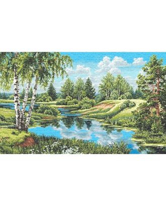 Пейзаж без уток (купон гобеленовый) арт. КГ-42-1-1614.035