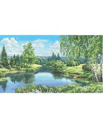 Пейзаж с березами (купон гобеленовый) арт. КГ-43-1-1614.036