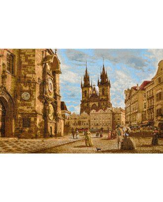 Прага. Староместская площадь (купон гобеленовый) арт. КГ-45-1-1614.038