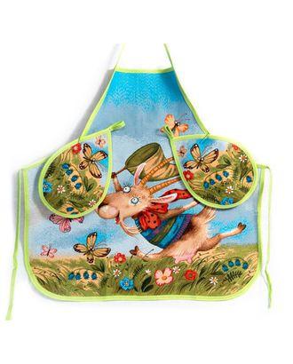 Козочка и бабочки (гобеленовый фартук) арт. СИФ-7-1-1607.003