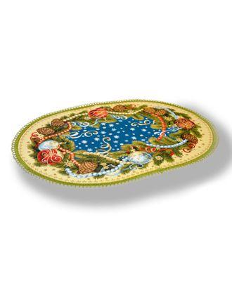 "Салфетка ""Шишки и шары"" арт. СГС-100-1-1606.017"