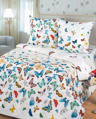 Бабочки (Бязь КПБ Евро) арт. КПБЕ-304-1-0091.057