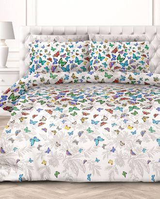 Бабочки (Бязь КПБ Евро) арт. КПБЕ-317-1-1093.018