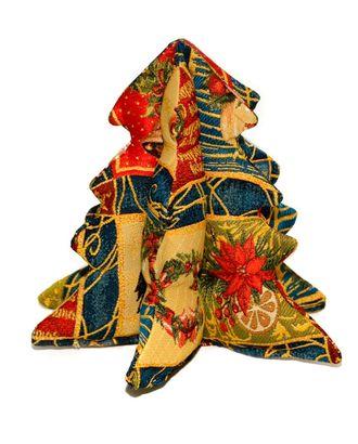 Ёлка настольная (гобеленовая подушка) арт. СИПИ-17-1-1613.010