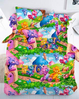 Радужные мишки (Бязь 150 см) арт. БГТ-8-1-1135.005