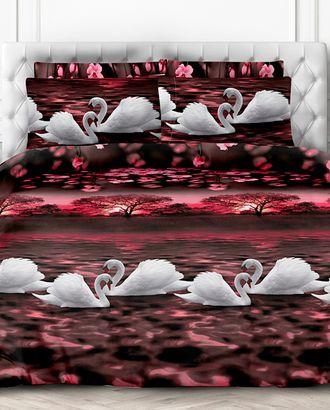 Лебеди (Перкаль 220 см) арт. ПРК-200-1-0990.002