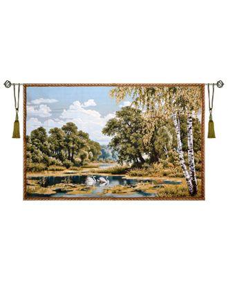 Пейзаж с лебедями (гобеленовое панно) арт. СИП-10-1-1609.008