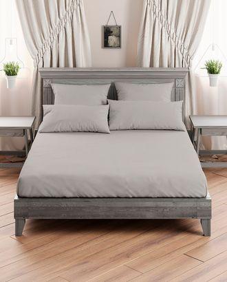 Поплин гладкокрашеный серый 220 см арт. ПГЛ-24-1-1514.013