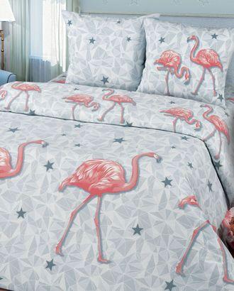 Фламинго (Бязь КПБ 2сп. с простынью евро) арт. КПБП-316-1-0090.069