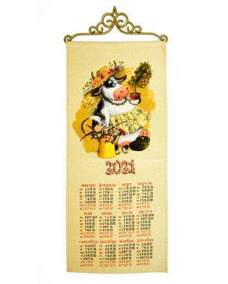 """Календарь из гобелена """"Хозяюшка"""" арт. КЛНД-24-1-1612.011"""