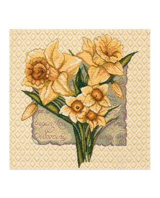 """Салфетка """"Нарцисс"""" арт. СГС-72-1-0999.016"""