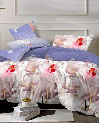 Розовая орхидея (Бязь 220 см) арт. БК-4-1-1300.004