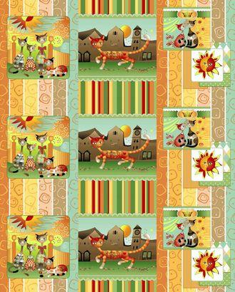Кошкин дом (Полотно вафельное) арт. ПВ150-81-1-0796.015