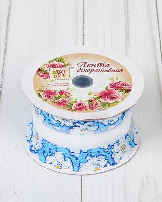 Лента декоративная ш.4 см арт. ЛОД-93-1-36308