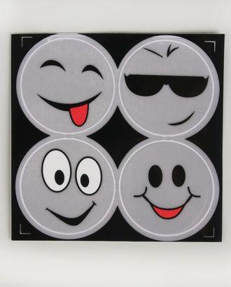 Светоотражающая наклейка д.6,5 см арт. АТ-11-1-37474
