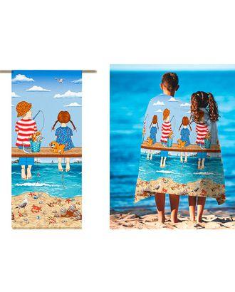 Рыбалка (Полотно вафельное) арт. ПВ150-155-1-0895.037