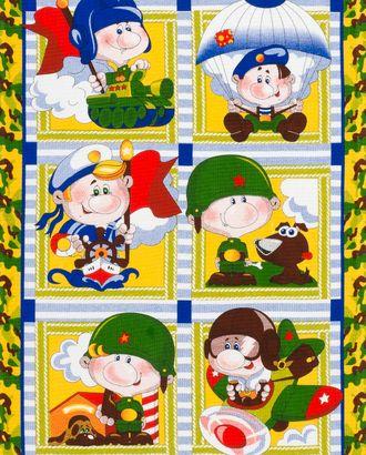 Армейские истории (Полотно вафельное 50 см) арт. ПВ50-128-1-0007.057