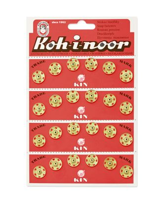 Кнопки KOH-I-NOOR №5 (д.13мм) арт. КНП-18-1-18409