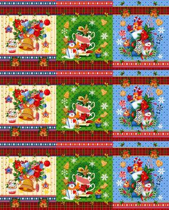 Новогодние чудеса (Полотно вафельное) арт. ПВ150-139-1-0867.018