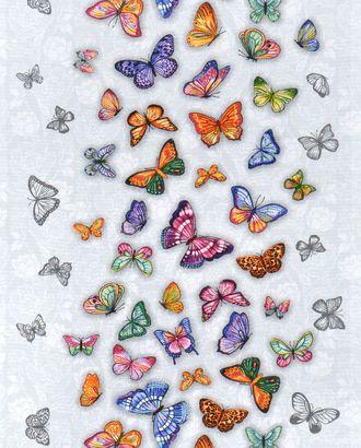 Бабочки (Полотно вафельное 50 см) арт. ПВ50-184-1-0989.087